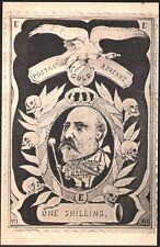 Espinasse. Série des timbres à figures politiques. Royaume Uni. Edouard VII