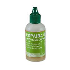 Copaiba HUILE ACEITE DE Copaiba 60 Ml BOUTEILLES 100% pure