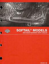 2006 HARLEY-DAVIDSON SOFTAIL MODELS PARTS CATALOG MANUAL -NEW SEALED-FLSTF-FXSTS