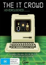 The IT Crowd Overclocked Collection Season 1 2 3 4 + Internet is Coming DVD R4