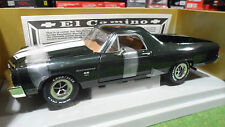 CHEVROLET CHEVY EL CAMINO SS454 Pick Up Vert 1/18 AMERICAN MUSCLE ERTL voiture