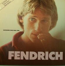 """RAINHARD FENDRICH """" ZWISCHEN UNO E VIER """" 12"""" LP [k336]"""