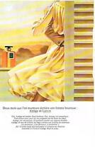 PUBLICITE  1973    LANVIN  parfum ARPEGE