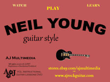 Custom Guitar Lessons, Learn Neil Young - DVD Video