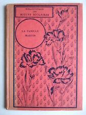 LA FAMILLE MARTIN HISTOIRE DE PLUSIEURS OURS. M. GENIN. LECTURES ENFANCE HETZEL
