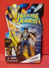 "Wolverine And The Xmen Logan Hasbro 4"" Figure Kids Toy Collectible 2008 Snap-On"