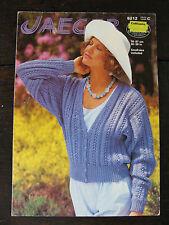 """Jaeger Knitting Pattern: Ladies Cardigan, DK, 30-38"""", 5212"""