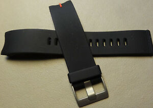 Mens Timex Expedition Black T49817 T49211 E-Compass Silicone Sport Watch Band