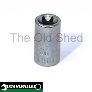 "Stahlwille E10 1/4"" Drive # E10 External Torx Socket"