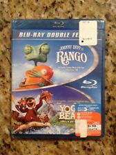 Rango/Yogi Bear (Blu-ray Disc, 2014, 2-Disc Set) NEW AUTHENTIC US RELEASE