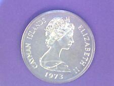 Cayman Islands - 5 Dollars - 1973 - KM# 8 - 0.925 Silver - Proof