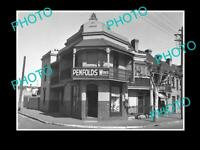 OLD POSTCARD SIZE PHOTO OF THE PENFOLDS WINES SHOP SYDNEY NSW c1940 2
