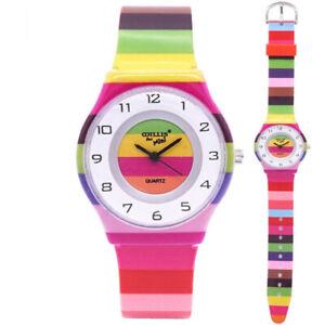 Women Quartz Watch Fashion Silicone Wristwatch Ultra Band Student Girls Watches