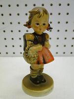 Old Goebel Hummel 4.5in Figurine School Girl 81 2/0 TMK3