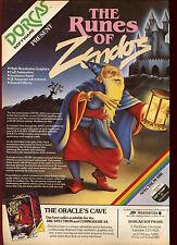 Le rune di zendos, durcas software, Spettro, 1985 RIVISTA annuncio #17881