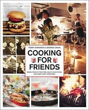 Cooking for Friends by George Craig & Terry Edwards Cookbook British Dinner New