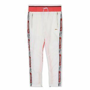 Le Tigre Dallas Track Pant White/Pink