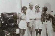 ANTIQUE VINTAGE 1935 SURFER GIRLS SURFBOARD VERNACULAR PHOTOGRAPHY WEST PHOTO