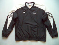 Mens ADIDAS Bowdoin college pullover sz M golf football sports game jacket