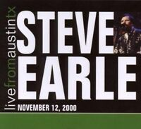 Earle, Steve - Live From Austin, Texas Nuovo CD Digi Pak