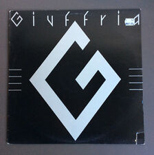 GIUFFRIA - Giuffria Vinyl LP Record Vinyl EX+ Cover Good 1984 Angel Hard Rock