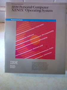 vintage NOS IBM software XENIX OPERATING SYSTEM