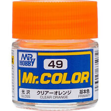 GSI CREOS GUNZE MR HOBBY Color C049 C49 Clear Orange LACQUER PAINT 10ml MODEL