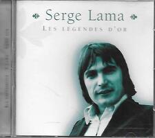 CD album: Compilation: Serge Lama. Les Légendes d' Or. Disky. W