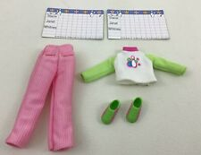 Barbie Stacie Bowling 6pc Lot Clothing Outfit Accessories Vintage 1998 Mattel