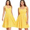 Vintage 50s Retro Women Girlfriend Rockabilly Pinup Housewife Party Swing Dress