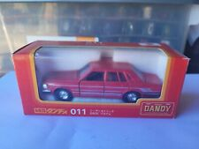TOMICA DANDY - NISSAN CEDRIC 280E [RED] NEAR MINT VHTF BOX GREAT MADE IN JAPAN
