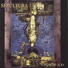Chaos A.d. 0016861900021 by Sepultura CD