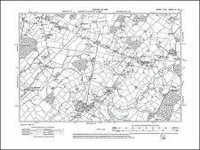 Lower Dicker, Upper Dicker, Lower Horsebridge, old map Sussex 1910: 55SE repro