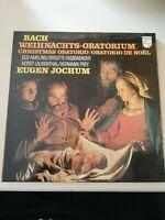 Bach Weihnachts Oratorium von Eugen Jochum Vinyl Klassik Schallplatte R22