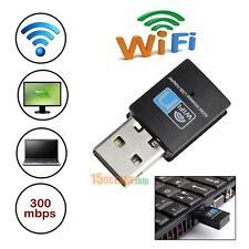 300Mbps Mini USB Wifi Wireless Adapter 802.11 B/G/N Network LAN Dongle