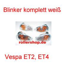 Blinker WEISS für Vespa ET2 + ET4, Zubehör Vicma
