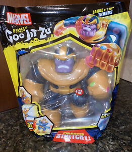"New Heroes of Goo Jit Zu Marvel Supagoo Hero Pack - Large Thanos 8"""
