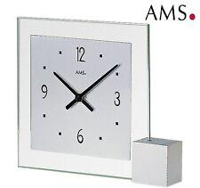AMS 38 quartz Horloge de table base en bois élégante bureau pendulette montre