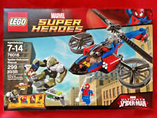 LEGO MARVEL Super Heroes SPIDER-HELICOPTER RESCUE 76016 Mary Jane Green Goblin