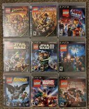 Ps3 lego games lot