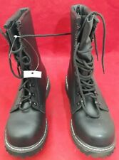 German Military Style Steel Toe Combat Boots Black Size 42 See Listing