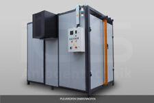 Pulverbeschichtungsanlage  Einbrennofen Pulverkabine  IOS Industrieofen-Service