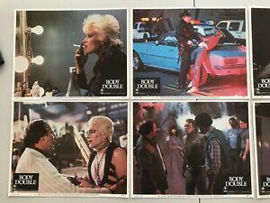 Original Lobby Card Set (8) 11x14: Body Double (1984) Melanie Griffith