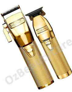 BaByliss Pro Combo GoldFX Skeleton Barber Hair Clipper and Trimmer/BabylissPro