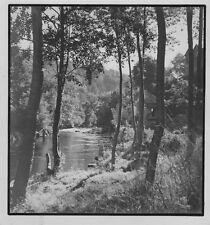 c1935 anonyme bord de rivière tirage argentique Vallée du Célé ? Cabrerets ? LOT