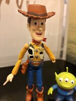 "5"" Kaiyodo Revoltech Pixar Figure No.005 Toy Story Woody Loose**Please Read**"