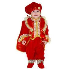 Vestito Costume Piccolo Duca Rosso 3/6 Mesi Carnevale Pegasus Party