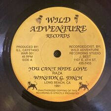 """Digi Winston Finch You Cant Hide Love 45 Lovers Rock 7"""" Roots Humble and Pray &"""