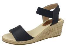 Sandalias con plataforma de mujer de color principal azul