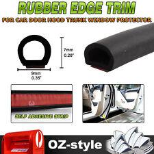 15 Meters D Type Car 3M Rubber Seal Strip Trim Window Door Trunk Edge Waterproof